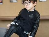 韩版童装批发 品牌儿童卫衣 秋冬男女童骷髅头夹克 童棒球服外套