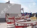 新世纪厂家定制欧洲风格欧式手划木船装饰船道具摆设