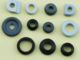 厂家定制生产双面硅胶护线圈 O型护线环防水橡胶出线圈护线套