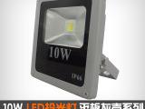 LED投光灯10W 新款平板户外灯室外灯防水 低压12V射灯 七