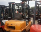 转让 二手电动叉车2吨6.2米带侧移 三节门架低价出售