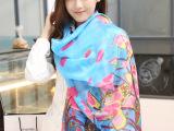 韩版棉麻丝巾防晒女围巾文艺范巴厘纱沙滩巾