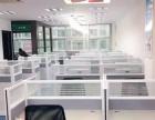 市中心大世界智能大厦158平米精装带办公设备出租