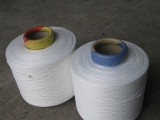 供应300D本白涤纶低弹丝 筒装丝 用于