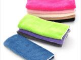 TA071 厂家直销 不沾油毛巾洗碗巾 **纤维抹布OPP袋22