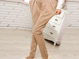 孕妇裤批发 孕妇装韩版时尚加大码可调节孕妇裤孕妇哈伦裤托腹裤