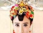公司年会 主持人化妆 礼服租赁 新娘跟妆特大优惠