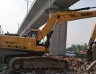 转让 挖掘机三一重工个人一手工地干活车