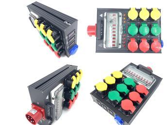 衡阳12路电源直通箱LED大屏电柜 6路电源盒 全系列全规格