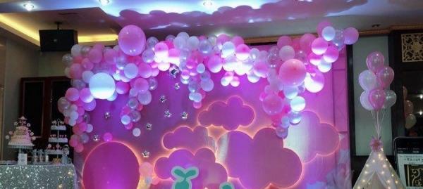东营宝宝宴,儿童生日派对,宝宝生日派对,孩子过生日,气球