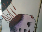 遵义3d绘画墙面幼儿园学校墙面绘画墙体画图