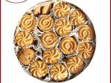 长期供应 可拉奥巧克力曲奇礼盒饼干 584g 精美铁盒装饼干