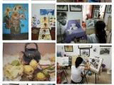 南宁聚信画室美术艺考培训,初中生美术特长生培训班 素描培训班