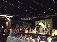 清新浪漫室外天台婚礼舞台搭建现场花艺布置接亲游戏