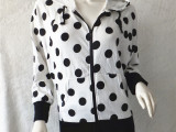 外贸原单秋季新款女装日单针织衫女开衫宽松长袖百搭外套