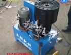 管材压管机 大棚管材圆管缩口机 不锈钢管缩头机