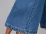 新款韩版弹力牛仔裤女微喇叭裤显瘦提臀大码牛仔喇叭 女裤微喇裤