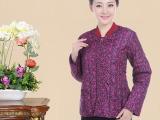 冬季新款女式保暖棉衣 中老年立领太空棉保暖棉袄 仿羽绒保暖衣