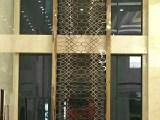 欧尤伊后现代简约不锈钢屏风玫瑰金雕花金属镂空隔断客厅玄关定制