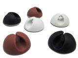 供应 桌面万能固线夹 黑白咖啡吸卡6个装 固线器 可混批