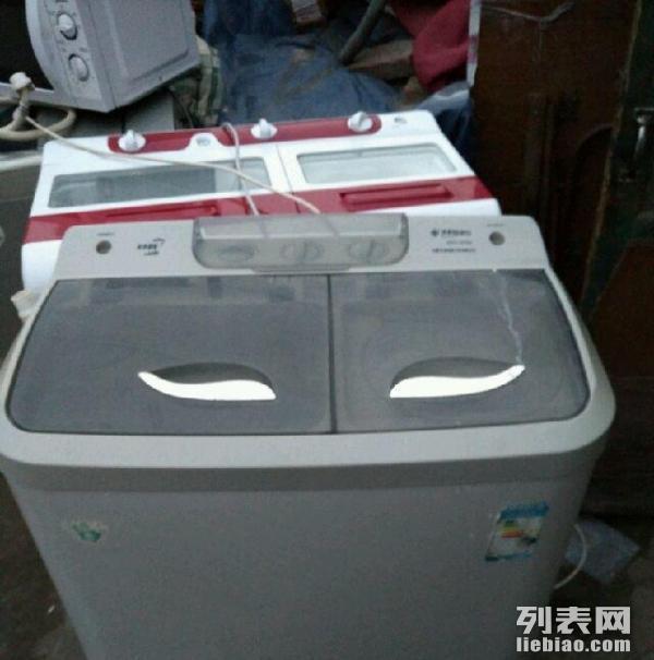 大量二手双桶洗衣机出售