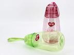 厂家直销 批发太空杯 手提透明吹塑塑料杯子 广告杯 银鹭赠品定制
