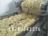 全自动优质热干面炒面生产设备 热干面自熟生产线