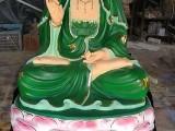 佛像神像批发市 青衣菩萨神像 白衣观世音菩萨1.6米