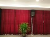 上海嘉定定制窗帘,电动开合帘,定制剧院,影院舞台幕布