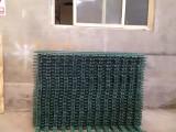 成都優美雅木紋色PVC柵欄 綠色PVC圍欄