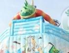 太惊叹了!!冰雪世界移动水上乐园 充气水滑梯 大闹龙宫大气包