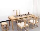 实木会议桌简约现代办公桌长条桌工作台培训洽谈桌椅组合