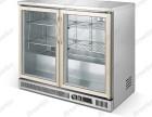 雅绅宝冷藏展示吧台柜迷你冷藏饮料牛奶酒水柜商用小型冰箱桌上柜