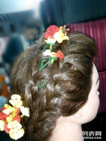 桂林彩妆造型,新娘化妆跟妆,晚宴妆,舞台妆,摄影妆图片