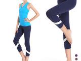 高端品牌瑜伽服女 舞蹈健身运动正品七分紧身束身瑜伽裤夏季新款