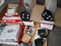 门头新买的高清监控一套2个摄像头1个海康录像机