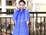 2012 创羽 女式羽绒中长款外套 12