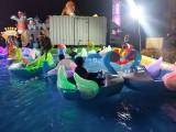 充气水池里面发光碰碰船天鹅款式多少钱