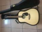 西安泰勒马丁圣马可玩易吉普森法丽达卡玛电箱民谣古典吉他回收