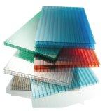 厂家 10mm透明防紫外线PC板材 温室防雾滴PC双层阳光板