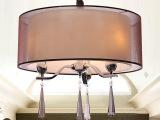 欧贺灯饰厂家中山批发现代简约布罩吊灯餐厅卧室房间灯具8091/3