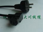 厂家专业生产优质价廉VDE 欧洲 欧规 欧标 欧式带插头电源线