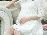 美琳妈咪孕妇装夏装孕妇连衣裙夏韩版时尚孕妇裙中袖一件代发
