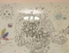 儿童涂鸦玻璃白板长沙磁性玻璃白板