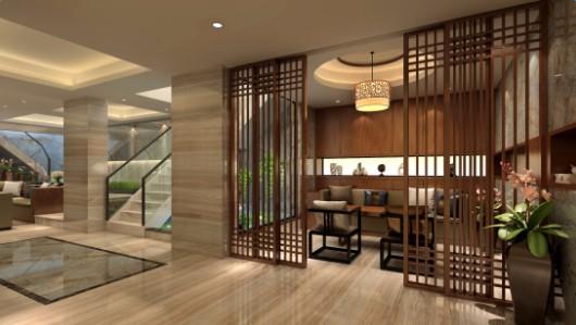 株洲苹果装饰设计案例 蓝溪谷 210 现代中式