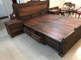 合肥红木家具回收 收购大红酸枝木家具 二手红木家具
