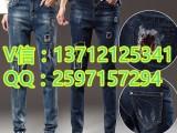 时尚外贸杂款牛仔长裤厂家直销5元牛仔裤批发市场韩版新款牛仔裤