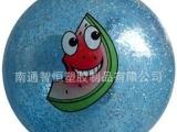 南通厂家直供环保及普通料的玩具球,亮片球