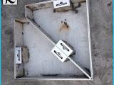 专业供应 201不锈钢隐形井盖 方形不锈钢隐形装饰井盖