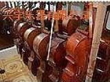 供应兴宇1/2-4/4乐器虎纹小提琴低音